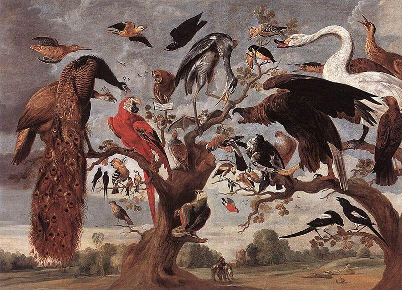 800px-Jan_van_Kessel_(I)_-_The_Mockery_of_the_Owl_-_WGA12143